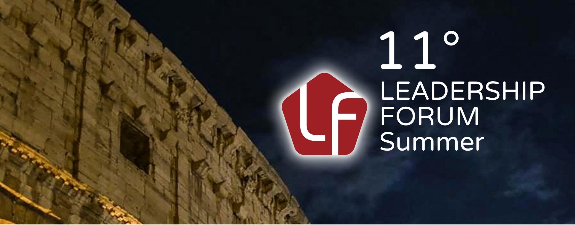 testata leadership forum summer 2019 roma